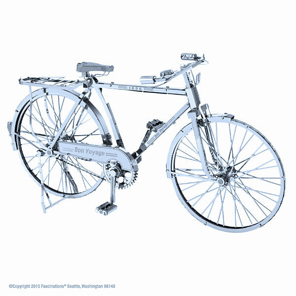 Classic Bicycle ICONX 3-D Metal Model