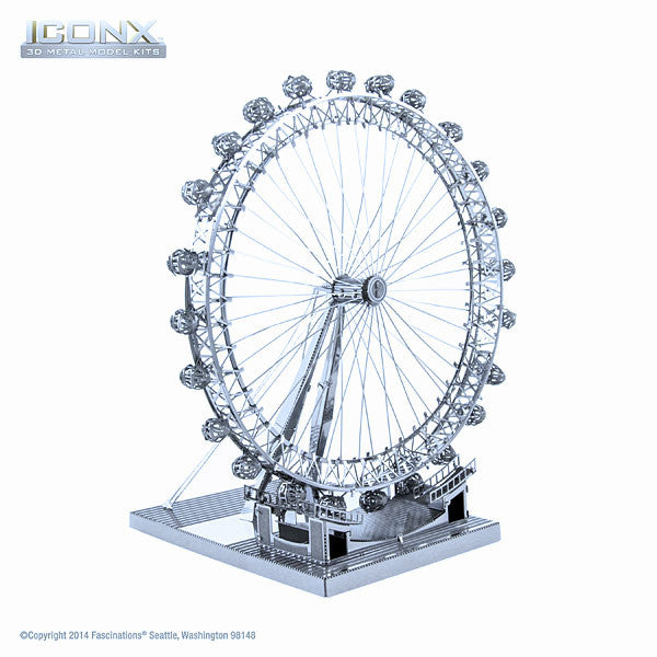 London Eye ICONX 3-D Metal Model