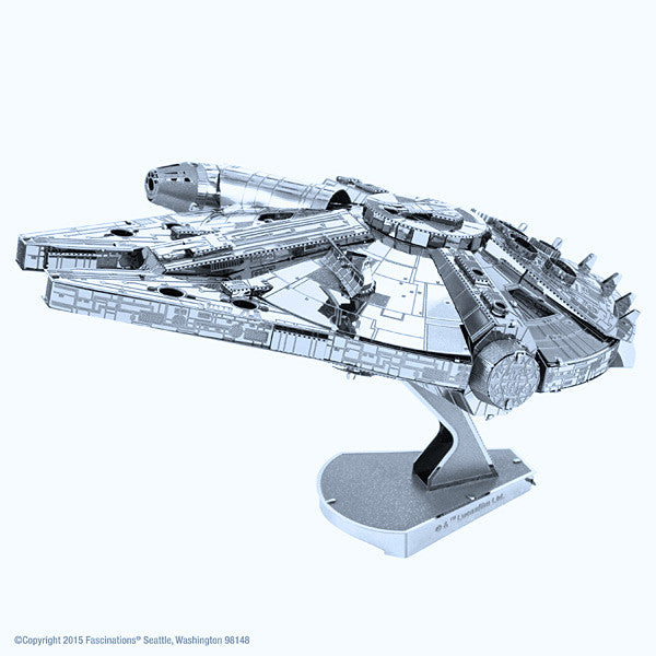 Star Wars Millennium Falcon ICONX 3-D Metal Model