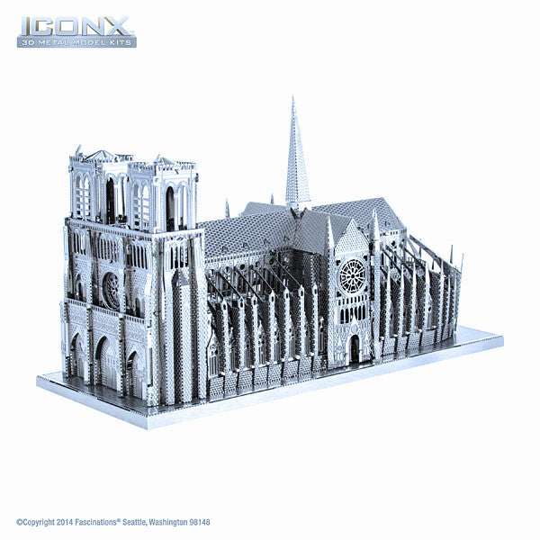 Notre Dame ICONX 3-D Metal Model