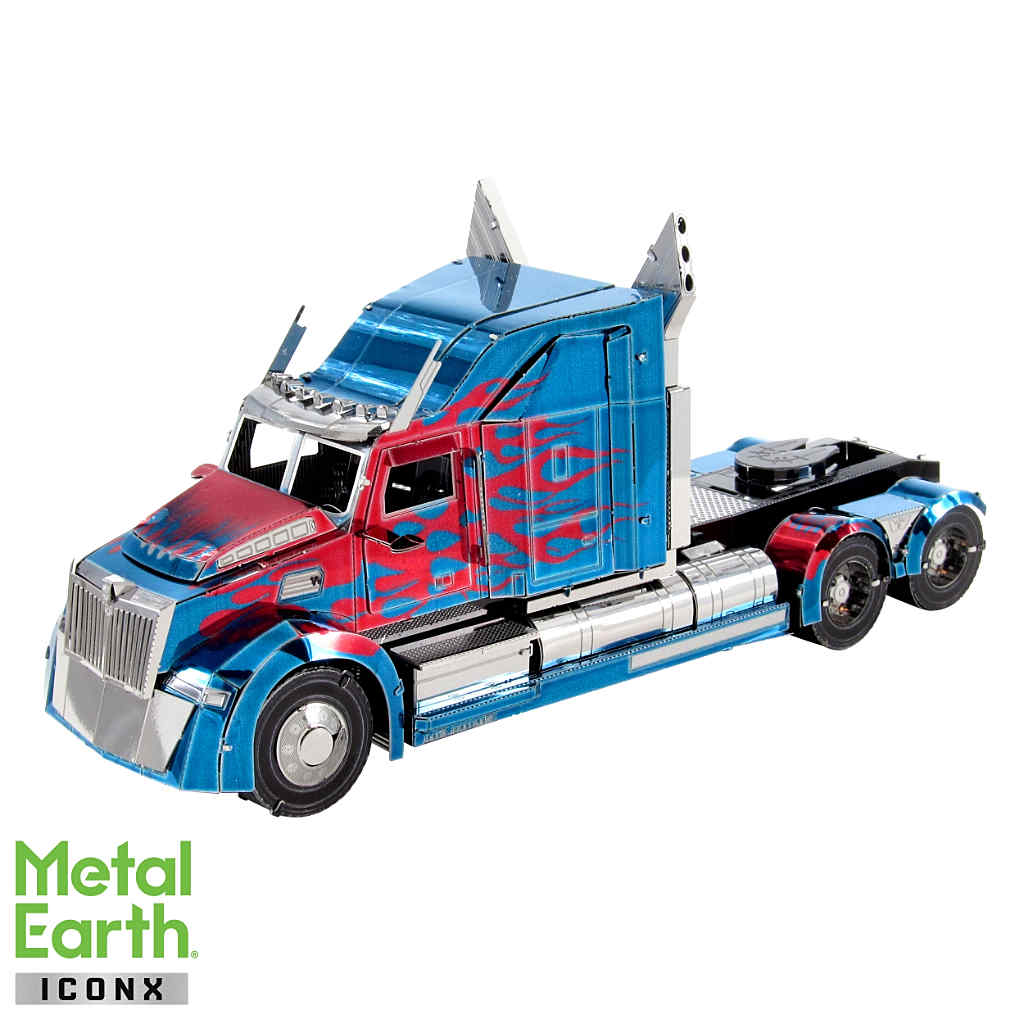 Optimus Prime Western Star 5700 Truck ICONX 3-D Metal Model