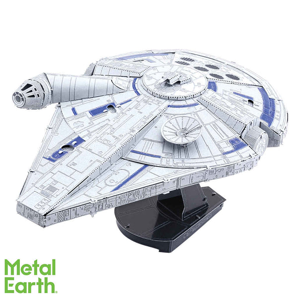 Star Wars Lando's Millennium Falcon ICONX 3-D Metal Model