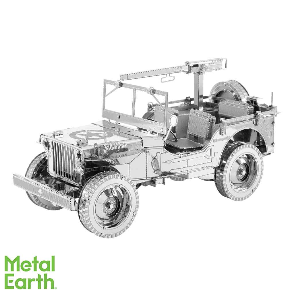 Willys Overland Jeep ICONX 3-D Metal Model
