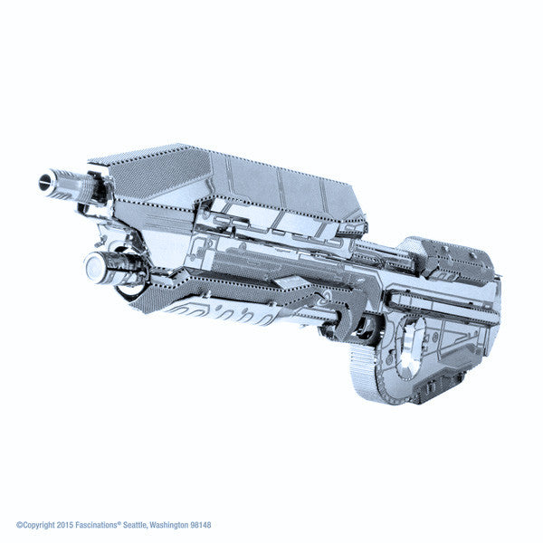 Halo Assault Rifle 3-D Metal Earth Model