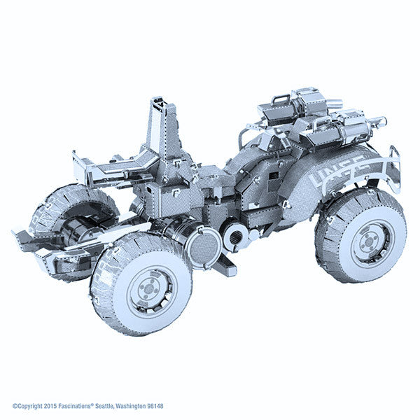 Halo UNSC Gungoose 3-D Metal Earth Model