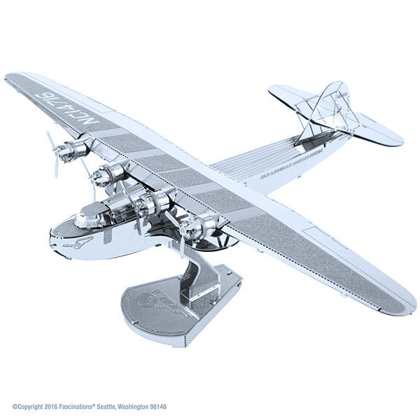Pan Am China Clipper 3-D Metal Earth Model