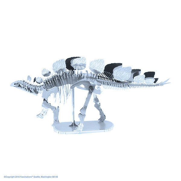 Stegosaurus Dinosaur 3-D Metal Earth Model