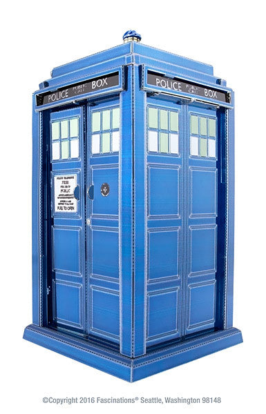 Dr. Who Tardis 3-D Metal Earth Model