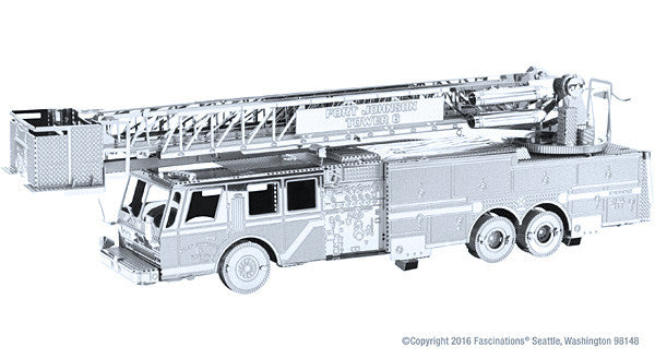 Fire Engine 3-D Metal Earth Model
