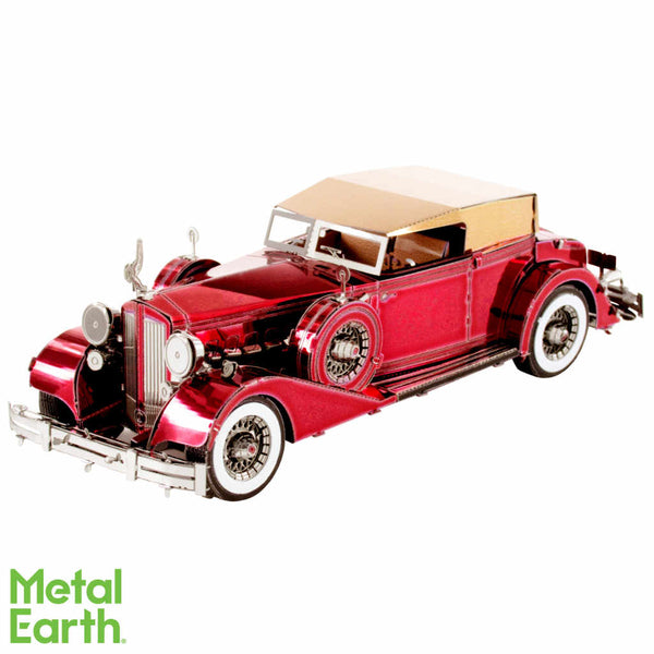 1934 Packard Twelve Convertible 3-D Metal Earth Model