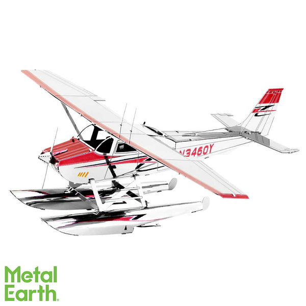 Cessna 182 Floatplane 3-D Metal Earth Model