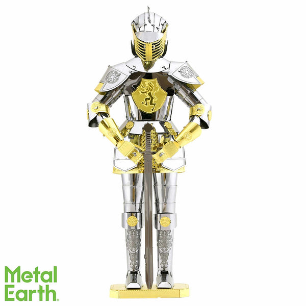 European (Knight) Armor 3-D Metal Earth Model