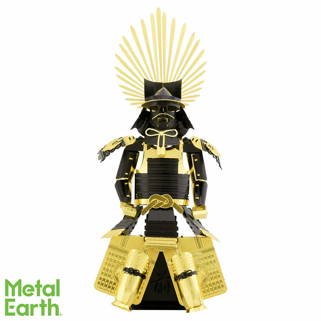 Japanese (Toyotomi) Armor 3-D Metal Earth Model