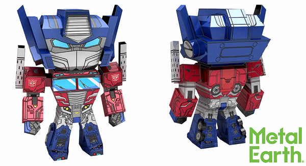 Optimus Prime Metal Earth Legends 3-D Model