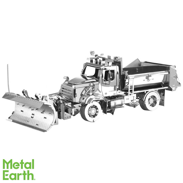 Snow Plow 114SD 3-D Metal Earth Model