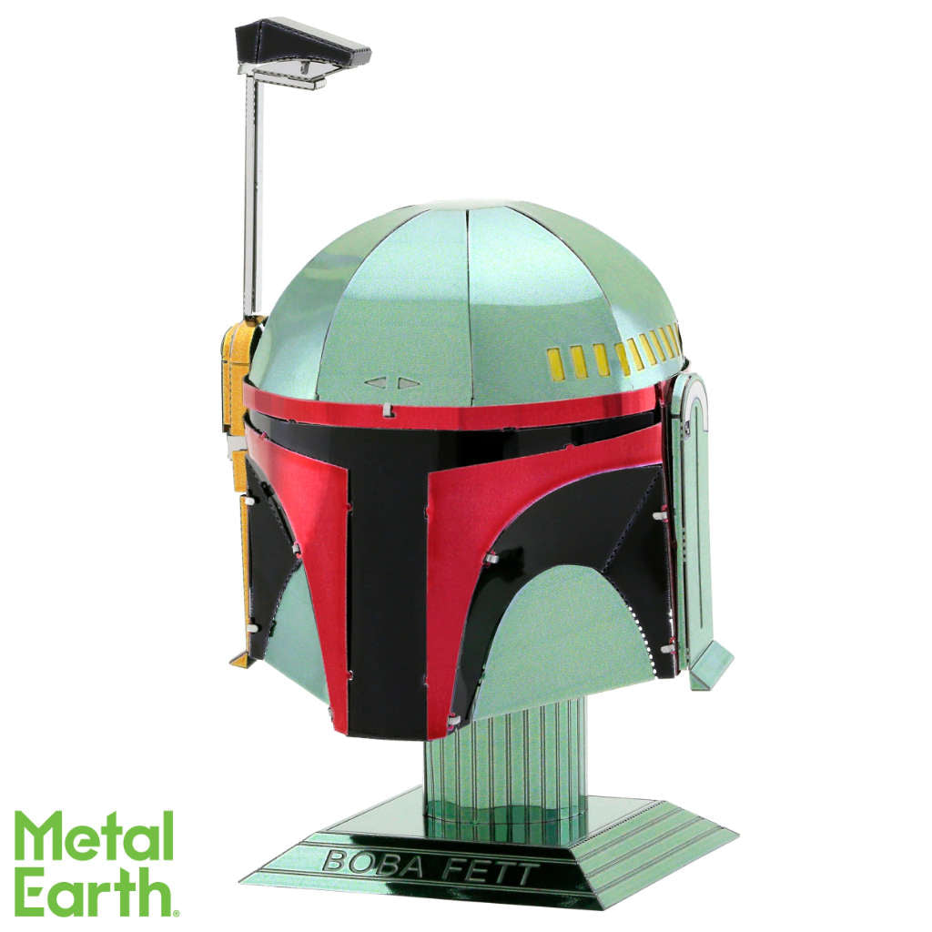 Star Wars BOBA FETT Helmet 3-D Metal Earth Model
