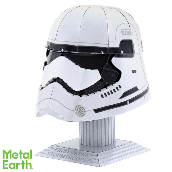 Star Wars First Order Stormtrooper Helmet 3-D Metal Earth Model