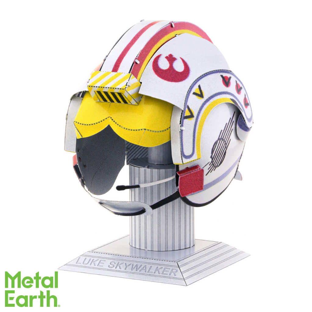 Star Wars Luke Skywalker Helmet 3-D Metal Earth Model