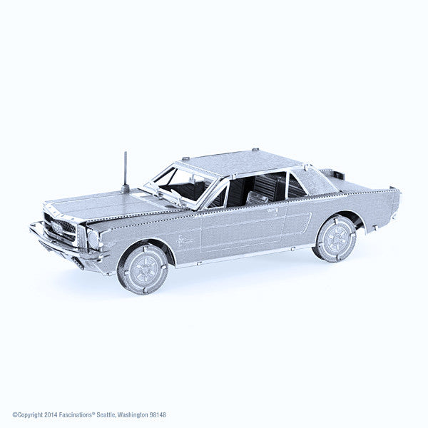 1965 Ford Mustang 3-D Metal Earth Model