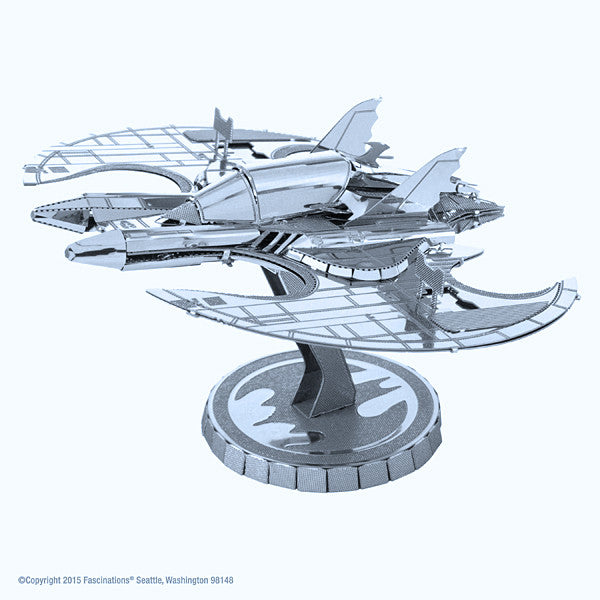 Batman 1989 Batwing 3D Metal Earth Model