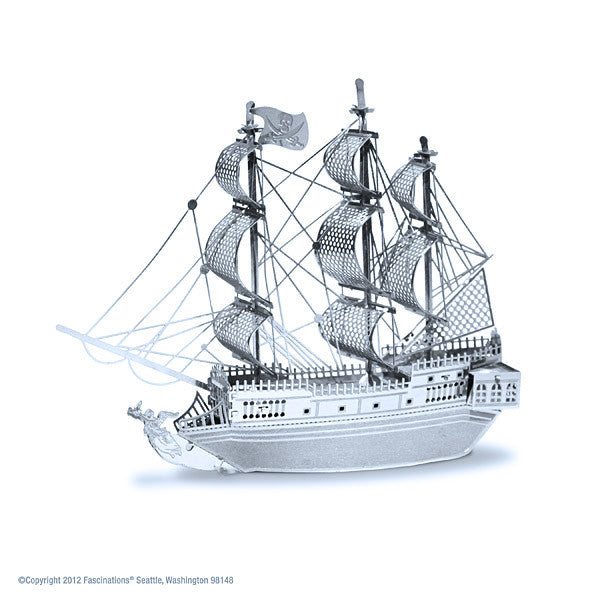 Black Pearl 3-D Metal Earth Model