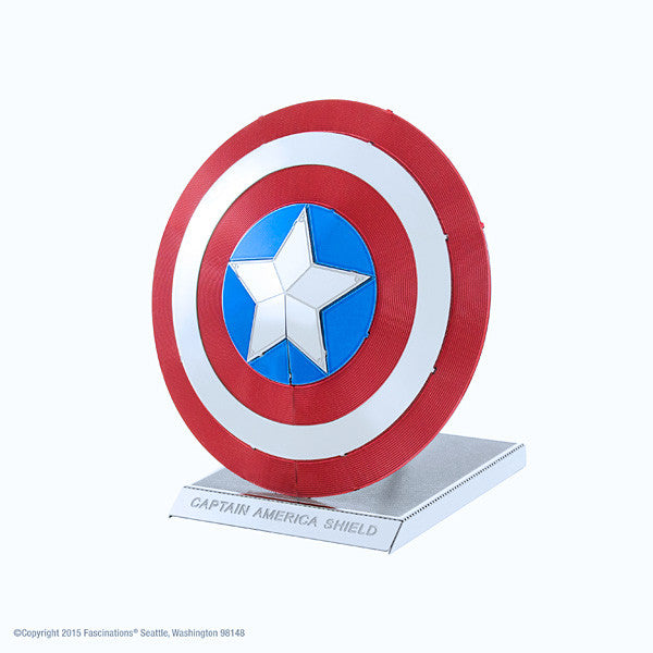 Captain America Shield 3-D Metal Earth Model