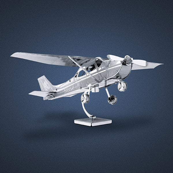 Cessna 172 Skyhawk Airplane 3-D Metal Earth Model