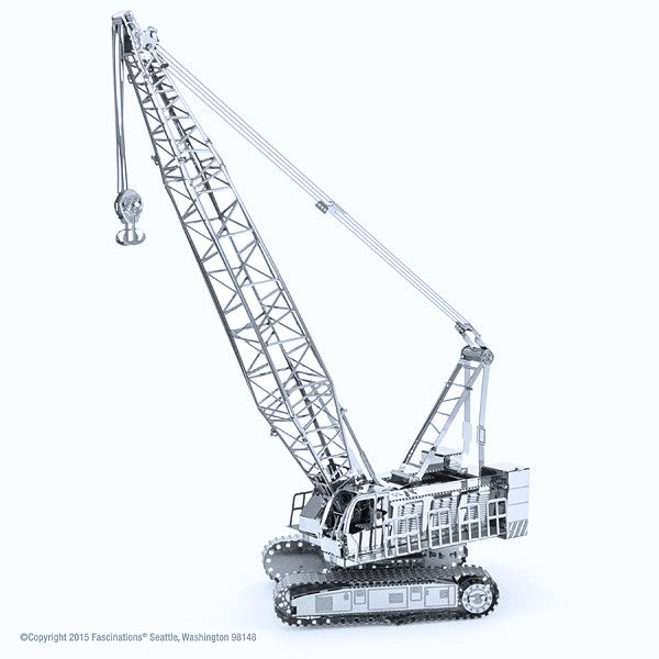 Crawler Crane 3-D Metal Earth Model