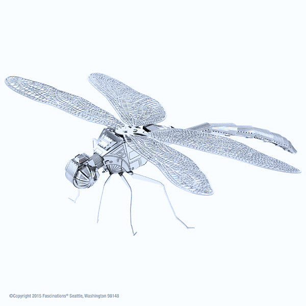 Dragonfly 3-D Metal Earth Model