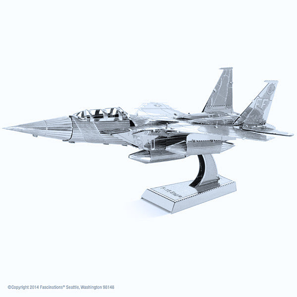 F-15 Eagle Airplane 3-D Metal Earth Model