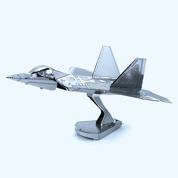 F-22 Raptor Airplane 3-D Metal Earth Model