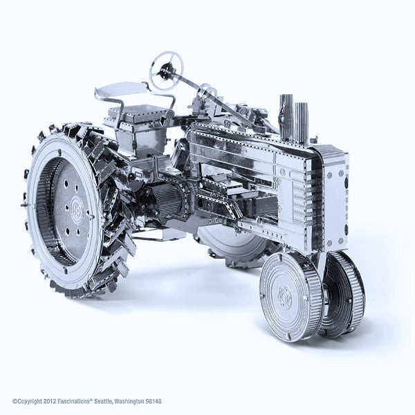 Farm Tractor 3-D Metal Earth Model