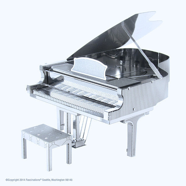 Grand Piano 3-D Metal Earth Model
