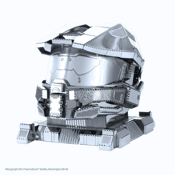 Halo Master Chief Helmet 3-D Metal Earth Model