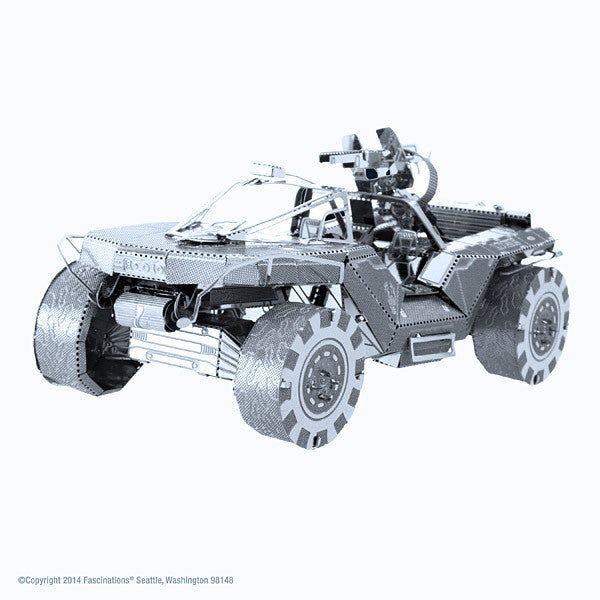 Halo Warthog 3-D Metal Earth Model