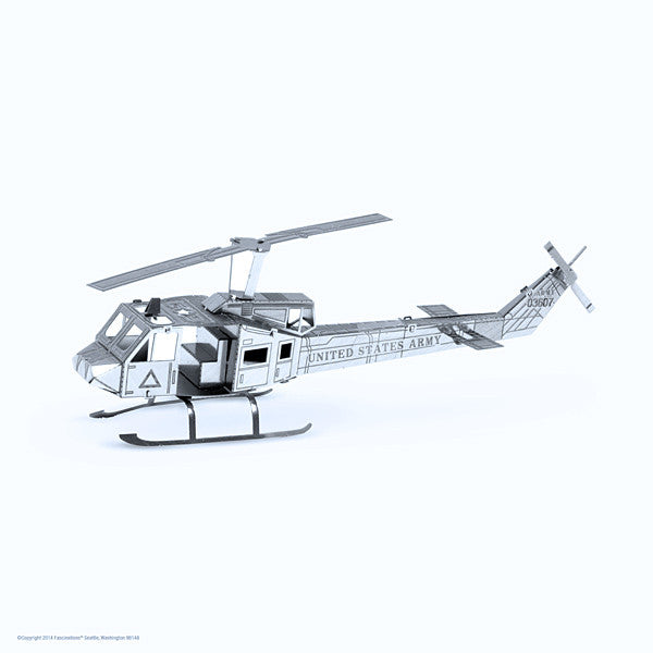 Huey UH-1 Helicopter 3-D Metal Earth Model