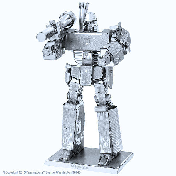 Transformers Megatron 3-D Metal Earth Model