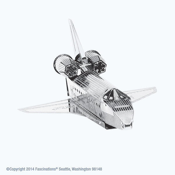 NASA Space Shuttle 3-D Metal Earth Model