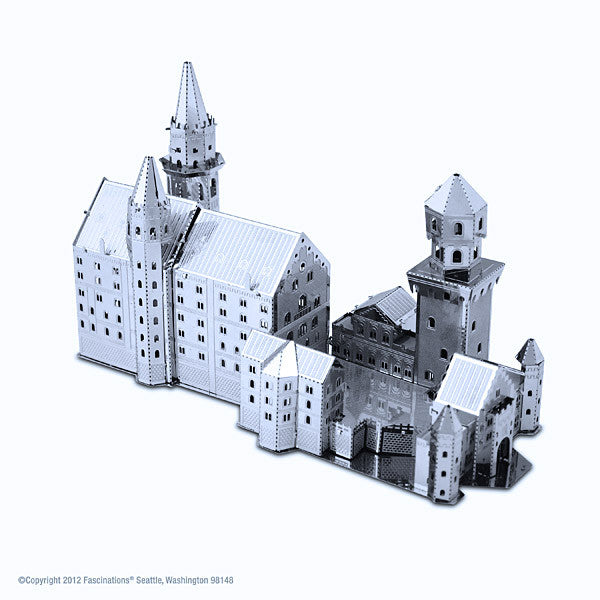Neuschwanstein Castle 3-D Metal Earth Model