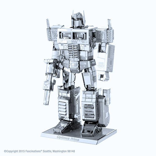 Transformers Optimus Prime 3-D Metal Earth Model