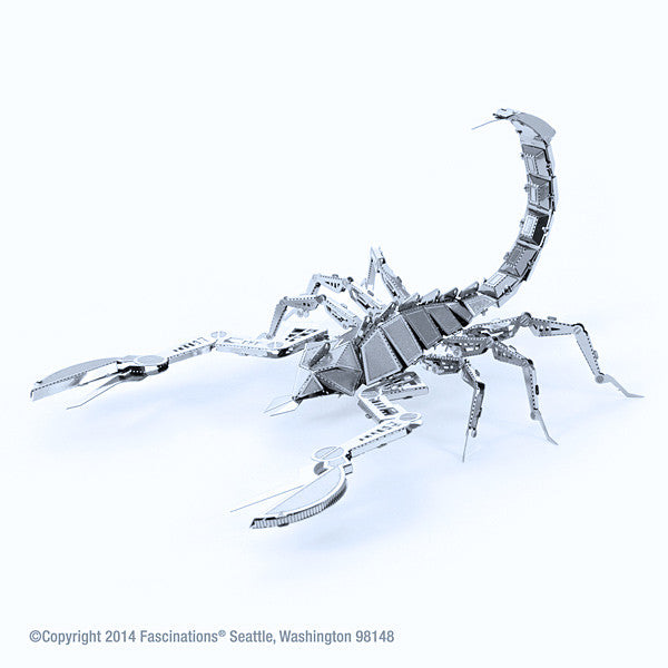 Scorpion 3-D Metal Earth Model