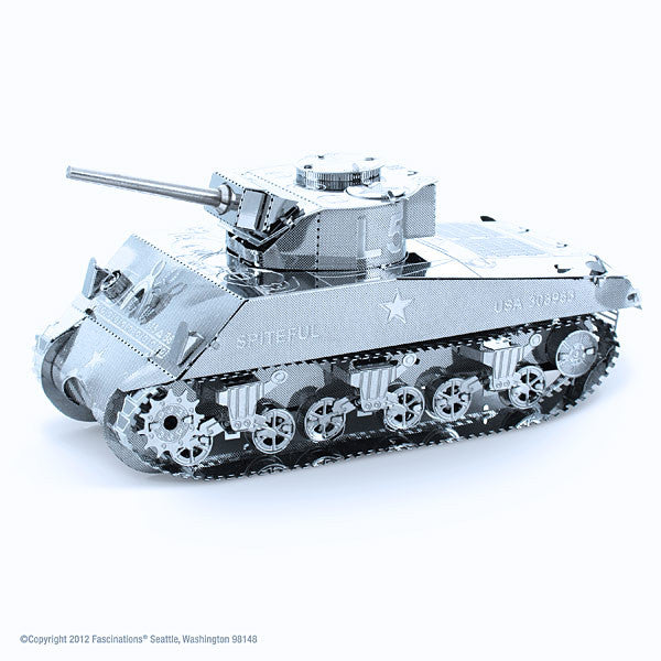 Sherman Tank 3-D Metal Earth Model