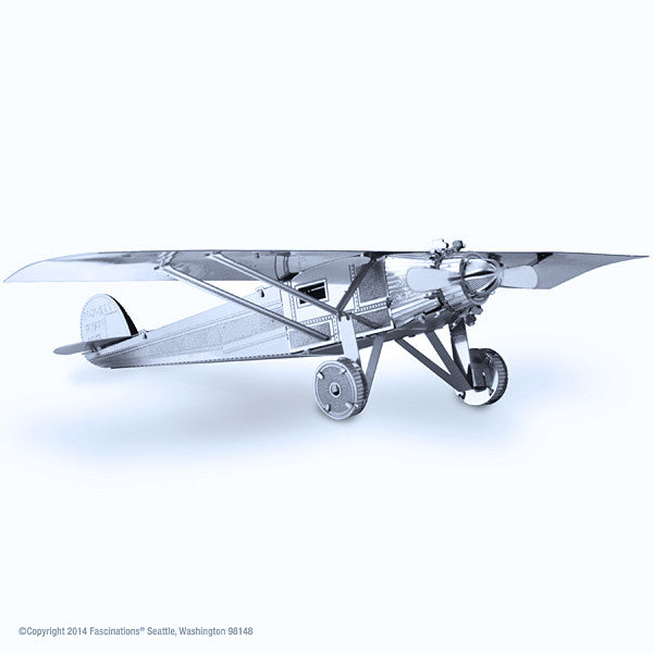 Spirit of St. Louis Airplane 3-D Metal Earth Model