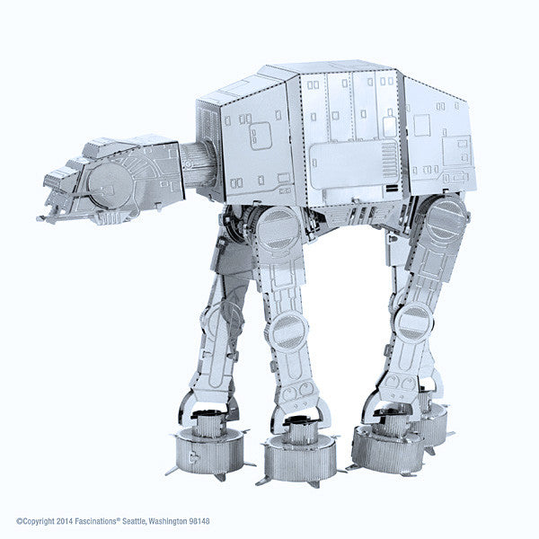 Star Wars AT-AT 3-D Metal Earth Model