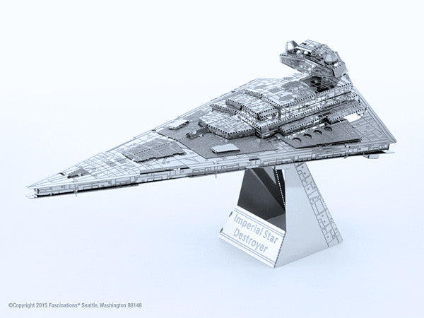 Star Wars Imperial Star Destroyer 3-D Metal Earth Model