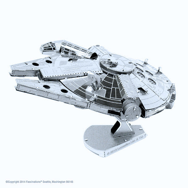 Star Wars Millenium Falcon 3-D Metal Earth Model