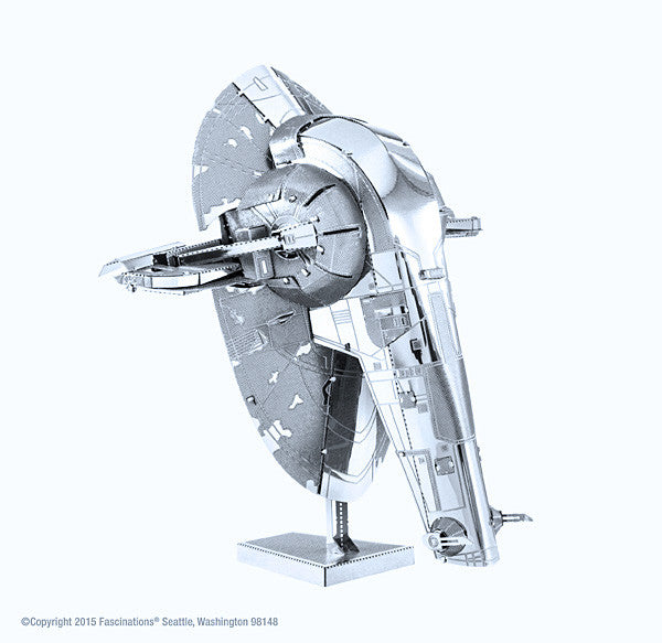 Star Wars Slave 1  3-D Metal Earth Model