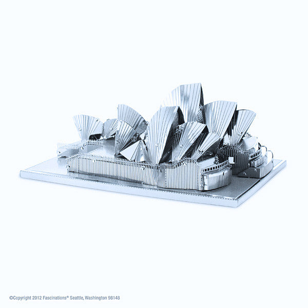 Sydney Opera House 3-D Metal Earth Model