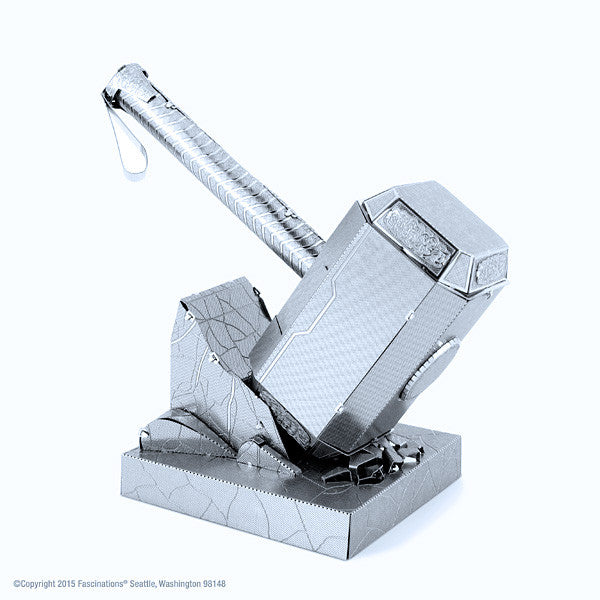 thor s hammer 3 d metal earth model yoyoloco