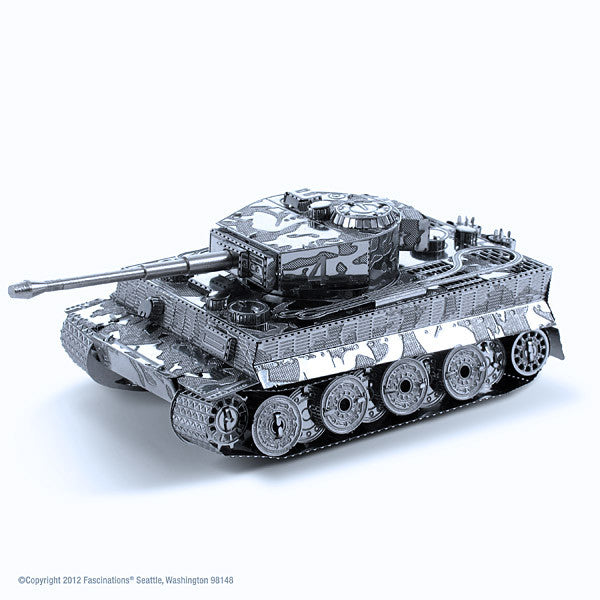 Tiger Tank 3-D Metal Earth Model